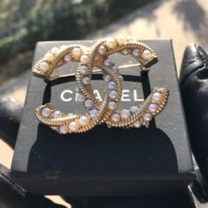 Authentic Chanel Twirl Brooch
